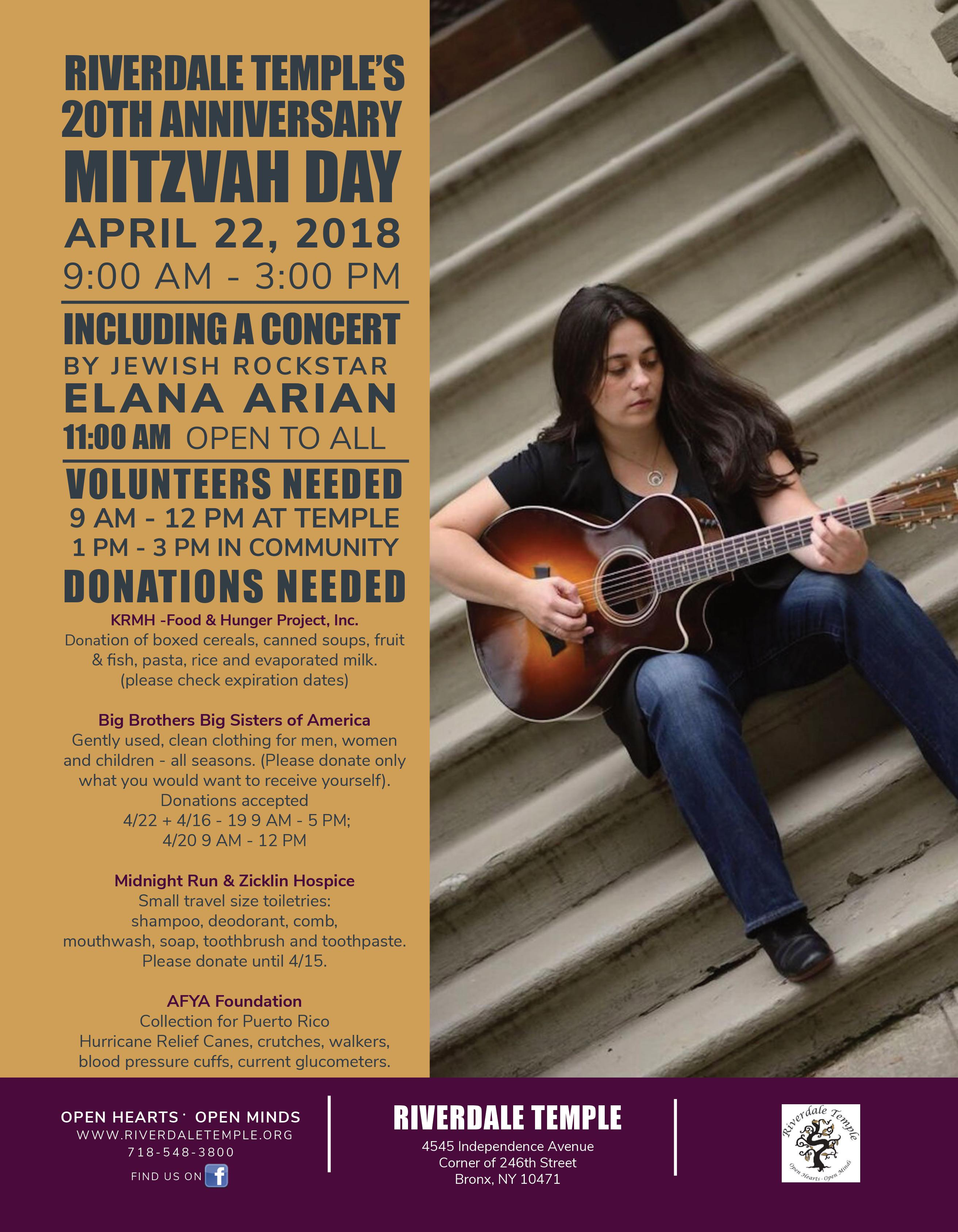 Mitzvah Day 3