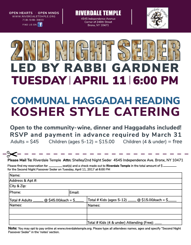 SecondNightSeder 3 16