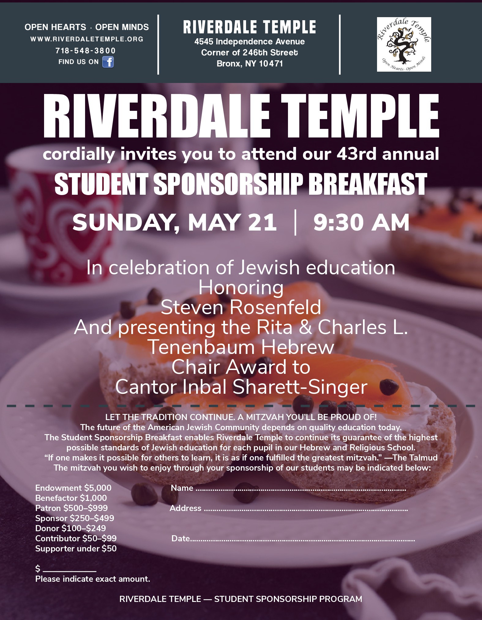 Sponsorship Breakfast